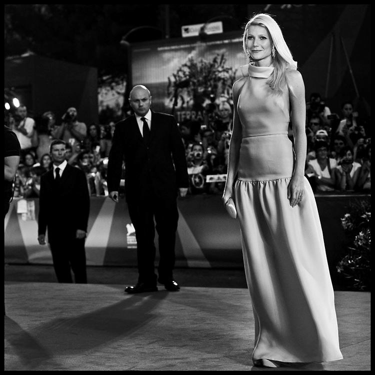 "Gwyneth Paltrow attends the premiere of movie ""Contagion"", presented out of competition at the 68th International Venice Film Festival."