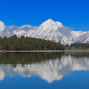 Grand Tetons - North Jackson Lake, WY - Panoramic