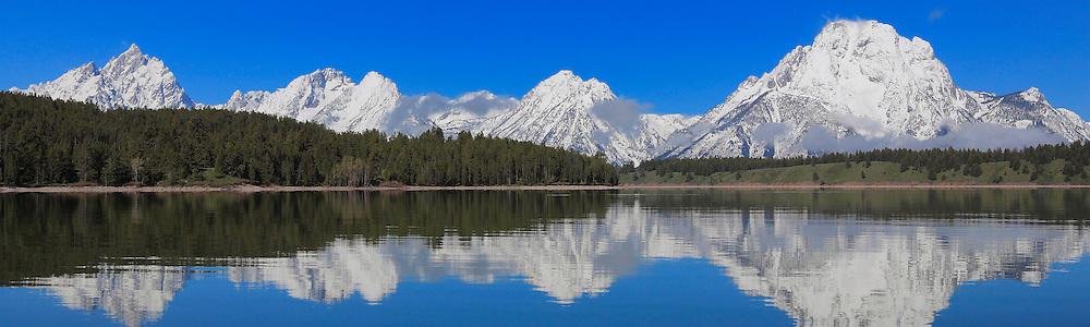 Grand Tetons - North Jackson Lake, WY - Panoramic