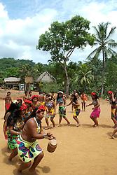 La Comarca Emberá–Wounaan, fue creada el 8 de noviembre del año 1983. Esta comarca cuenta con dos etnias, los Emberá y los Wounaan. Los Emberá habitan en diferentes comunidades incluyendo las orillas del Río Chagres. Panamá, 3 de julio de 2012. (Damian Hernandez/Istmophoto)