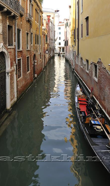 Narrow canal