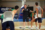 DESCRIZIONE : Bormio Ritiro Nazionale Italiana Maschile Preparazione Eurobasket 2007 Allenamento Preparazione fisica<br /> GIOCATORE : Carlo Recalcati<br /> SQUADRA : Nazionale Italia Uomini EVENTO : Bormio Ritiro Nazionale Italiana Uomini Preparazione Eurobasket 2007 GARA : <br /> DATA : 22/07/2007 <br /> CATEGORIA : Allenamento <br /> SPORT : Pallacanestro <br /> AUTORE : Agenzia Ciamillo-Castoria/E.Castoria<br /> Galleria : Fip Nazionali 2007 <br /> Fotonotizia : Bormio Ritiro Nazionale Italiana Maschile Preparazione Eurobasket 2007 Allenamento <br /> Predefinita :