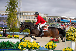 Rutschi Niklaus, SUI, Cardano CH<br /> Longines FEI Jumping Nations Cup Final<br /> Challenge Cup - Barcelona 2019<br /> © Dirk Caremans<br />  06/10/2019