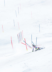 """29.01.2019, Planai, Schladming, AUT, FIS Weltcup Ski Alpin, Slalom, Herren, 2. Lauf, im Bild Julien Lizeroux (FRA) // Julien Lizeroux of France in action during his 2nd run of men's Slalom """"the Nightrace"""" of FIS ski alpine world cup at the Planai in Schladming, Austria on 2019/01/29. EXPA Pictures © 2019, PhotoCredit: EXPA/ JFK"""