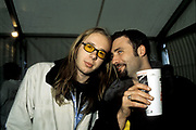 Tom (Chemical Bros) and Derek Dalarge, DJ, 1990's