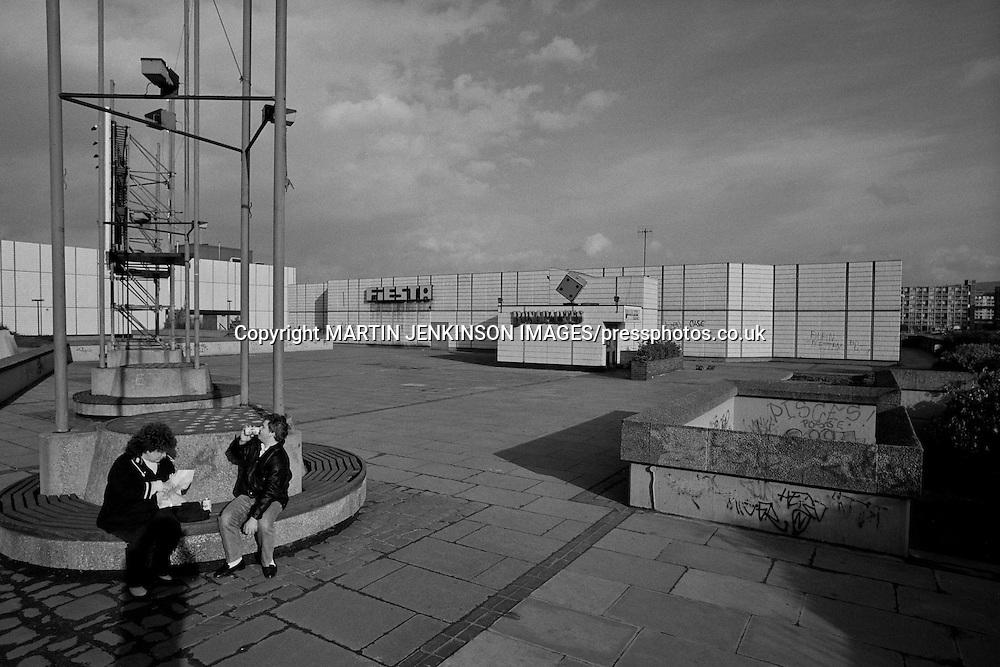 Fiesta nightclub and Bonapartes casino, Arundel Gate Sheffield 05-02-1990.