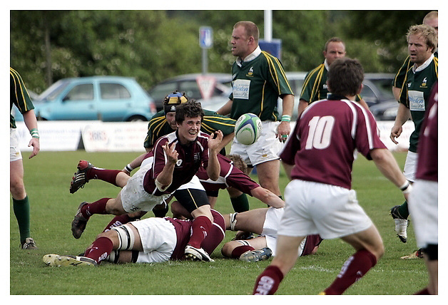 Hertfordshire v Gloucestershire..County Championship semi final Bill Beaumont Cup.