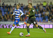 Gerard Deulofeu during the Capital One Cup match between Reading and Everton at the Madejski Stadium, Reading, England on 22 September 2015. Photo by Adam Rivers.
