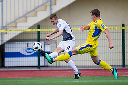Timotej Mate of NK Ankaran Hrvatini during football match between NK Domzale and NK Ankaran Hrvatini in Round #30 of Prva liga Telekom Slovenije 2017/18, on May 2nd, 2018 in Sports Park Domzale, Domzale, Slovenia. Photo by Urban Urbanc / Sportida