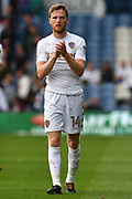 Leeds United midfileder Eunan O'Kane (14)  during the EFL Sky Bet Championship match between Leeds United and Preston North End at Elland Road, Leeds, England on 12 August 2017. Photo by Ian Lyall.