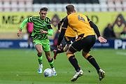 Forest Green Rovers Taylor Allen(12) runs forward during the EFL Sky Bet League 2 match between Cambridge United and Forest Green Rovers at the Cambs Glass Stadium, Cambridge, England on 7 September 2019.