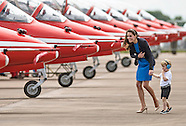 Prince George, Kate Middleton & Prince William At Air Show