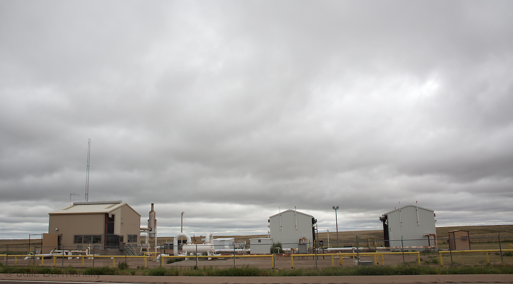 Gas industry sites in Colorado