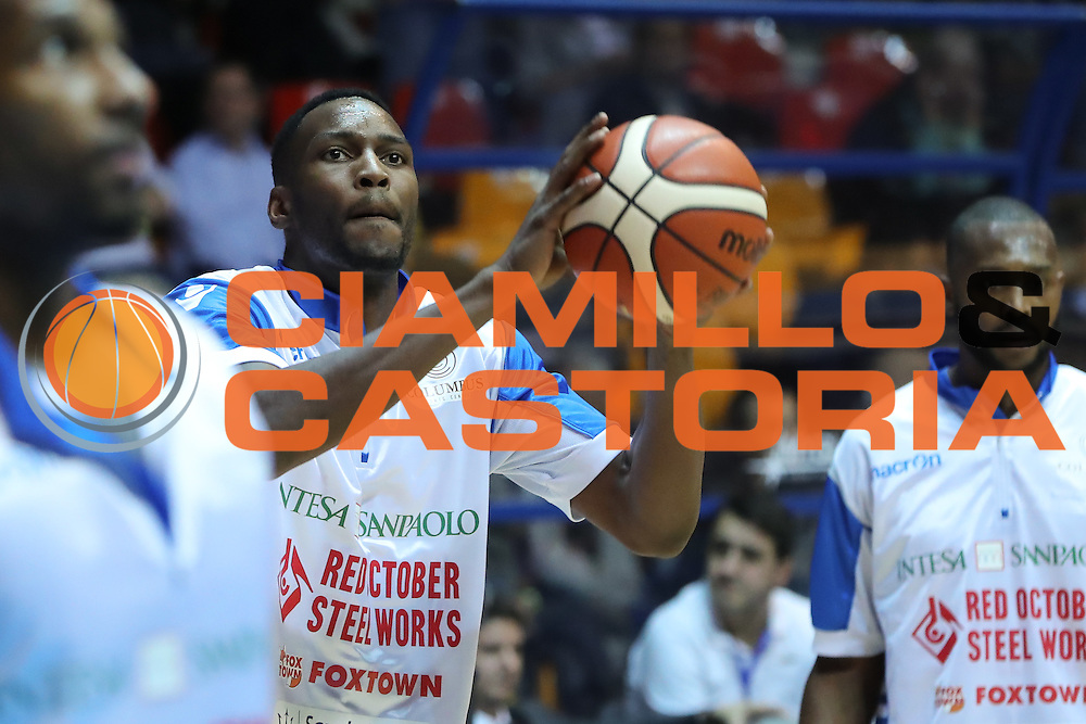 Johnson JaJuan , Red October Cantù vs Vanoli Cremona LBA serie A 13^ giornata stagione 2016/2017 PalaDesio 27/12/2016