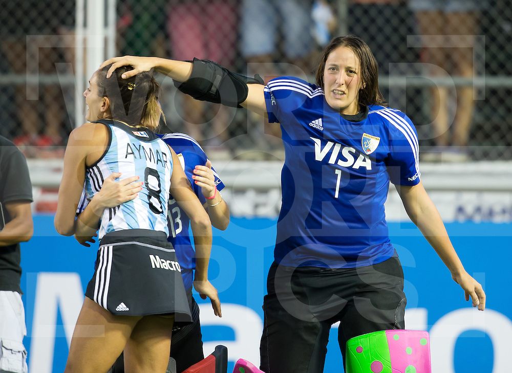 Argentina Hockey Champions Trophy 2014<br /> Mendoza 7/12/2014<br /> Day 6 <br /> Final Australia v Argentina<br /> Luciana Aymar<br /> <br /> Photo: Grant Treeby<br /> www.treebyimages.com.au