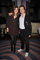 KATE ELLIOT AND LUKE IRWIN at the launch of Quintessentially Soho at the House of St Barnabas, 1 Greek Street, London on 29th September 2009.<br /> <br /> <br /> <br /> <br /> BYLINE MUST READ: donfeatures.com<br /> <br /> *THIS IMAGE IS STRICTLY FOR PAPER, MAGAZINE AND TV USE ONLY - NO WEB ALLOWED USAGE UNLESS PREVIOUSLY AGREED. PLEASE TELEPHONE 07092 235465 FOR THE UK OFFICE.*