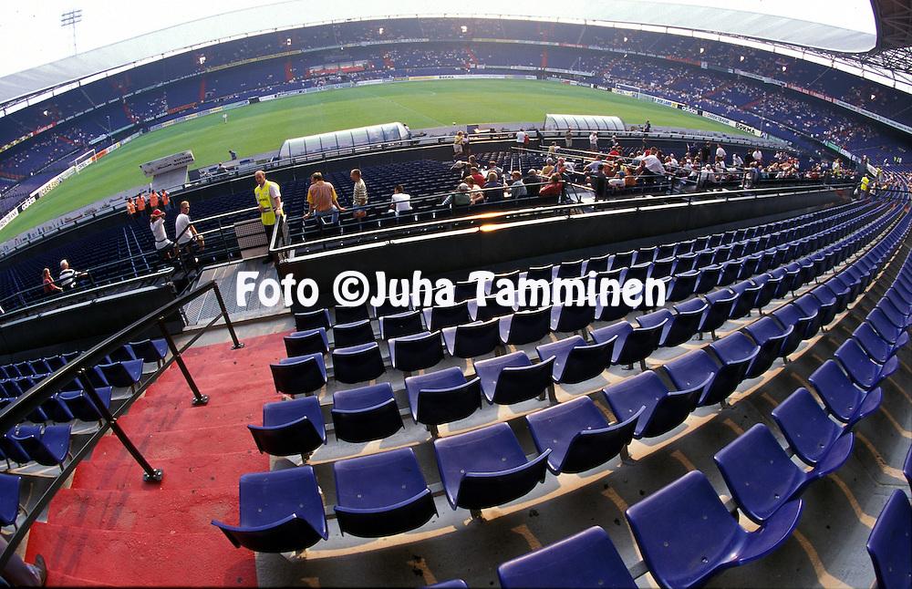 13.08.1997, Rotterdam, Holland.Stadion Feijenoord.©Juha Tamminen