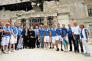 2010 - L' Italnuoto in visita a l'Aquila