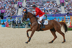 Lansink Jos (BEL) - Valentina van't Heike<br /> Olympic Games London 2012<br /> © Dirk Caremans