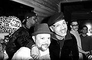 Frankie Knuckles and Anane at Roots  in New York City, New York on April 02, 2014.