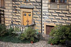 CZECH REPUBLIC FRYDLANT 5SEP15 - Entrance to the cellars at Frydlant castle, Liberecko, Czech Republic.<br /> <br /> jre/Photo by Jiri Rezac<br /> <br /> © Jiri Rezac 2015
