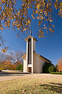 Place of Meditation Chapel Building at Dwight D. Eisenhower Presidential Museum and Library, Abilene, Kansas
