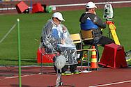 28.6.2012, Olympiastadion - Olympic Stadium, Helsinki, Finland..European Athletics Championship - Yleisurheilun EM-kisat..Heittopaikan toimitsijoita.