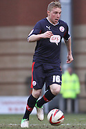 Picture by David Horn/Focus Images Ltd +44 7545 970036.23/02/2013.Nicky Adams of Crawley Town during the npower League 1 match at the Matchroom Stadium, London.