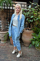 BELLA HOWARD at the Warner Music Group Summer Party in association with British GQ held at Shoreditch House, Ebor Street, London E2 on 8th July 2015.
