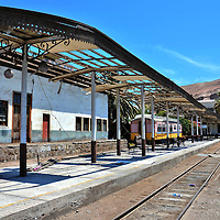La Paz Railway Station in Arica, Chile<br />