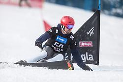 Maccutcheon Steven during the FIS snowboarding world cup race in Rogla (SI / SLO) | GS on January 20, 2018, in Jasna Ski slope, Rogla, Slovenia. Photo by Urban Meglic / Sportida