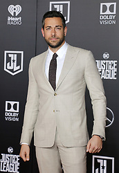 Zachary Levi at the World premiere of 'Justice League' held at the Dolby Theatre in Hollywood, USA on November 13, 2017.