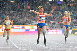 23/07/2017 : Marlou van Rhijn (NED), T44, Women's 200m, Final, at the 2017 World Para Athletics Championships, Olympic Stadium, London, United Kingdom