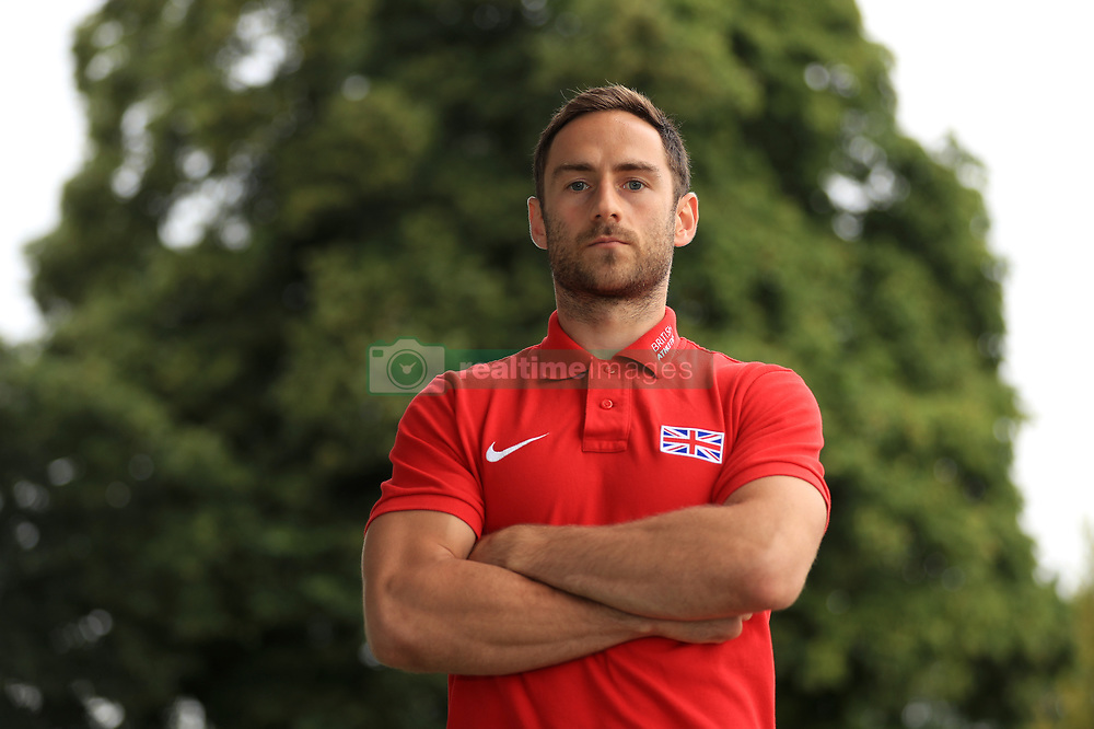 Decathlete Ashley Bryant during the team announcement ahead of the IAAF World Championships, at the Loughborough University High Performance Centre. PRESS ASSOCIATION Photo. Picture date: Tuesday July 11, 2017. See PA story ATHLETICS Worlds. Photo credit should read: Tim Goode/PA Wire