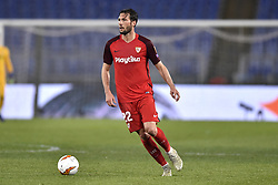 February 14, 2019 - Rome, Rome, Italy - Franco Vazquez of Sevilla during the UEFA Europa League round of 32 match between Lazio and Sevilla at Stadio Olimpico, Rome, Italy on 14 February 2019. (Credit Image: © Giuseppe Maffia/NurPhoto via ZUMA Press)