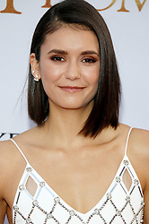 Nina Dobrev at the Los Angeles premiere of 'The Promise' held at the TCL Chinese Theatre in Hollywood, USA on April 12, 2017.