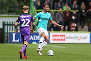 Forest Green Rovers Farrend Rawson(6) on the ball during the EFL Sky Bet League 2 match between Forest Green Rovers and Port Vale at the New Lawn, Forest Green, United Kingdom on 8 September 2018.