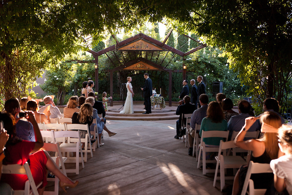 Botanical Gardens ABQ BioPark wedding photography New Mexico