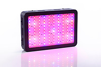 Full-spectrum LED grow light for indoor plant vegetative and flowering growth emitting red, blue, UV and IR spectrum