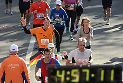 03-11-2013 ALGEMEEN: BVDGF NY MARATHON: NEW YORK <br /> De NY marathon werd weer een groot succes voor de BvdGf. Alle lopers hebben met prachtige tijden de finish gehaald / Ton finisht in 4:07:26<br /> ©2013-FotoHoogendoorn.nl