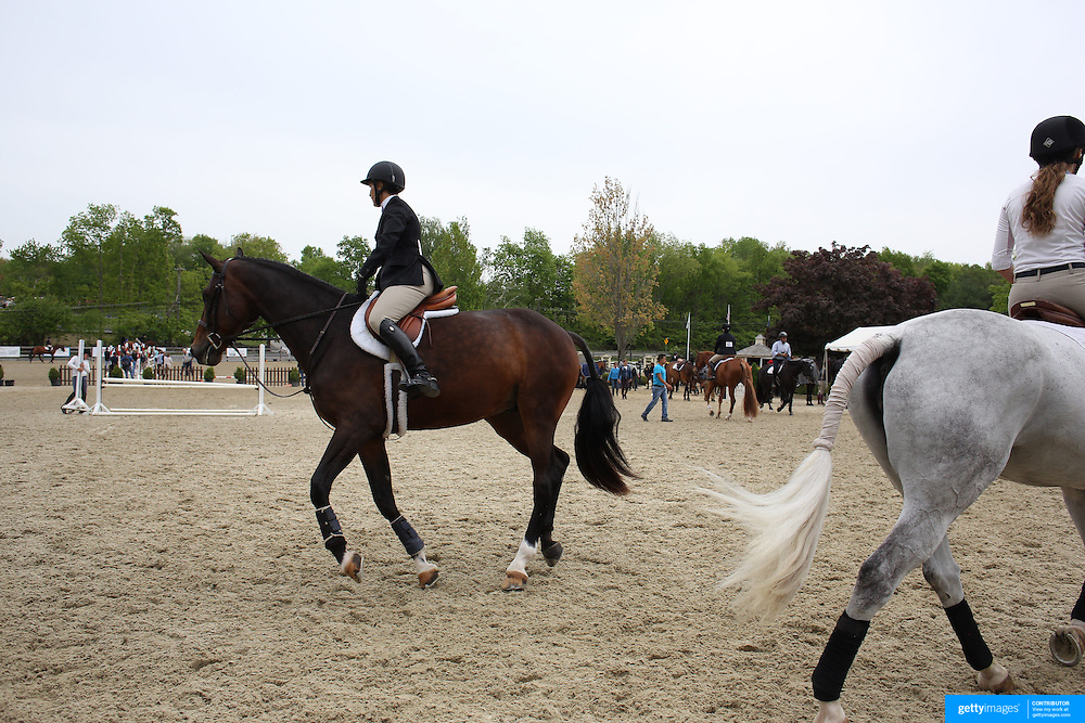 A scene at the Old Salem Farm Spring Horse Show, North Salem, New York, USA. 15th May 2015. Photo Tim Clayton