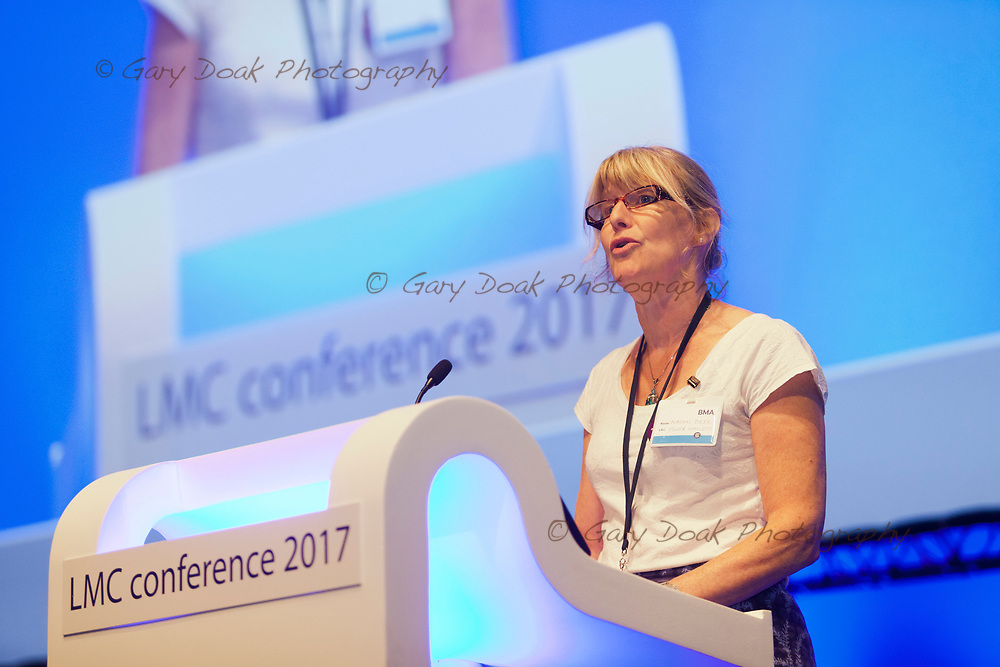 Naomi Beer<br /> BMA LMC's Conference<br /> EICC, Edinburgh<br /> <br /> 18th May 2017<br /> <br /> Picture by Gary Doak