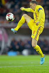 November 14, 2017 - Bucharest, Romania - Vlad Chiriches (Rom) during the International Friendly match between Romania and Netherlands at National Arena Stadium in Bucharest, Romania, on 14 november 2017. (Credit Image: © Alex Nicodim/NurPhoto via ZUMA Press)