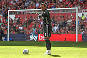 Lee Camp (1) during the EFL Sky Bet Championship match between Nottingham Forest and Birmingham City at the City Ground, Nottingham, England on 17 August 2019.