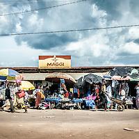 19/11/2014. Nzerekore. Guinee Conakry.<br /> Jour de march&eacute; &agrave; Nezerekore. &copy;Sylvain Cherkaoui/Cosmos pour Alima