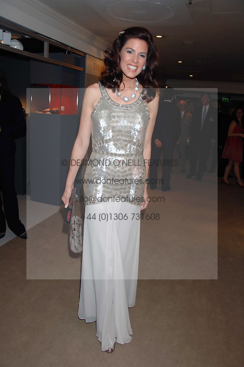 CHRISTINA ESTRADA JUFFALI at the Grosvenor House Art & Antiques Fair Gala evening in aid of the UKs oldest childrens charity CORAM held at the Grosvenor House Hotel, Park Lane, London on 14th June 2007.<br /><br />NON EXCLUSIVE - WORLD RIGHTS
