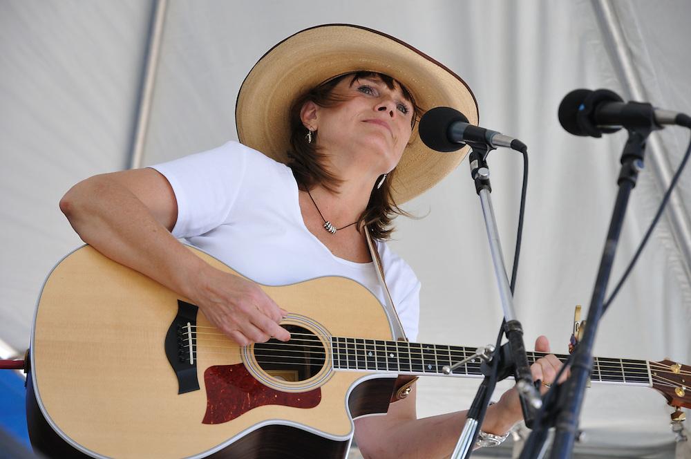 Carol Markstrom concert at 2013 Tucson Folk Festival.