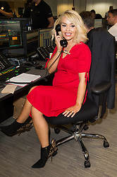 © Licensed to London News Pictures. 11/09/2017. KATIE PIPER takes part in the on the annual BGC Partners Charity Day in commemoration of its 658 friends and colleagues and 61 Eurobroker employees lost in the World Trade Center attacks on 9/11. PIcture Credit: Tang/LNP