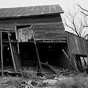 An old barn Northwest of Abilene, TX.