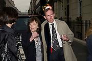 BERYL BAINBRIDGE AND A.N. WILSON, Matthew Carr: New Work. Marlborough Gallery. Albermarle St. London. 24 June 2008.  *** Local Caption *** -DO NOT ARCHIVE-© Copyright Photograph by Dafydd Jones. 248 Clapham Rd. London SW9 0PZ. Tel 0207 820 0771. www.dafjones.com.